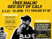"""""""Free Malik"""" Rally in Tenderloin"""