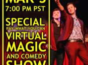 "Ryan Kane Special ""Pay-What-You-Can"" Virtual Magic Show"