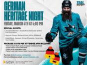 German Heritage Night with the San Jose Sharks