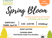"""""""Spring Bloom"""" Cooking Demo & Sonoma County Fundraiser"""
