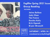 """Foglifter"" Spring 2021 LGBTQ+ Author Event Celebration"
