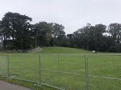 """SF's """"Hippie Hill"""" All Fenced Off for 4/20"""
