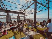 """Boardwalk Boogie Day Party"" at Oakland's Brooklyn Basin"