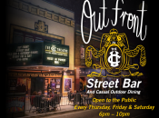 """""""Out Front"""" at The UC Theatre: Outdoor Cocktails & Music"""