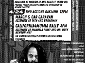 """Free Mumia"" March & Car Caravan (Downtown Oakland)"