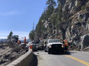 Big Rockslide Closed Hwy 50 Near Lake Tahoe This Weekend