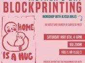 YAX Mother's Day Virtual Blockprinting Workshop