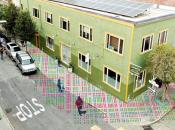 SF's Sidewalk Mural Painting Party