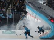 SJ Sharks Welcome Back Fans on April 26