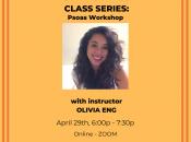 KKDE In-Joy Class Series:  Psoas Workshop
