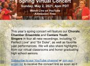 Together in Unity: Virtual Spring Concert
