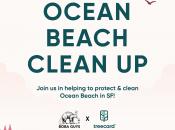 """Free """"Boba Guys"""" Drinks for 100 Volunteers: Ocean Beach Clean Up"""