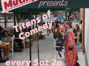 """Titans of Comedy"" at Atlas Cafe"