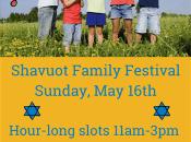 Shavuot Family Festival in Silicon Valley