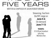 "Novato Theater Company's ""The Last Five Years"" Livestream (June 4-6)"
