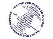 """New Southern Exposure Art Exhibit """"We Use Our Hands To Support"""""""