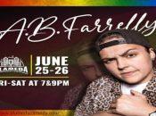 Pride Weekend LGBTQ+ Comedy w/ A.B. Farrelly (Alameda)