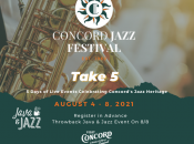 Concord Jazz Festival 2021 (Aug. 4-8)