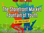 """Storefront Market """"Fountain of Youth"""" Festival (West Oakland)"""