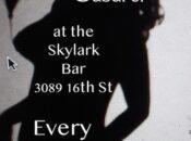 """No Cover Cabaret"" at Skylark"