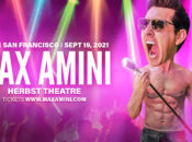 Stand-up Comedian Max Amini Live at the Herbst Theatre (SF)