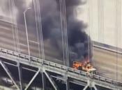 See the Aerial Photo of Last Week's Bay Bridge Vehicle Fire