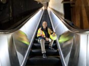 BART Gets First of 41 Brand New Clean Escalators in SF