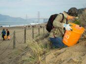 Beach Cleanup at Baker Beach (SF)