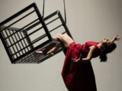Prison-Themed Outdoor Aerial Public Art Performance (SF)