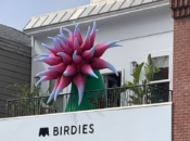 """SF's New """"Bloomtown"""" Giant Inflatable Dahlias & Scavenger Hunt"""