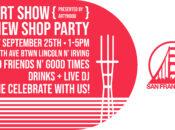 San Franpsycho's Art Show, DJs, Drinks + New Shop Party (SF)