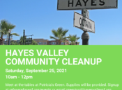 Hayes Valley Community Cleanup (SF)