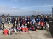 International Coastal Cleanup Day at Aquatic Park (SF)