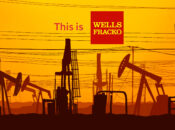 """""""Stop Funding Fossil Fuels"""" Protest at Wells Fargo (SF)"""