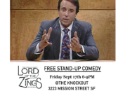 """""""Lord of the Zings"""" w/ Happy Hour Drink Prices (SF)"""