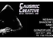 Causmic Creative (Bass, Midtempo) at F8 (Oakland)